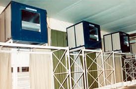 Enfriadores evaporativos (para uso industrial)